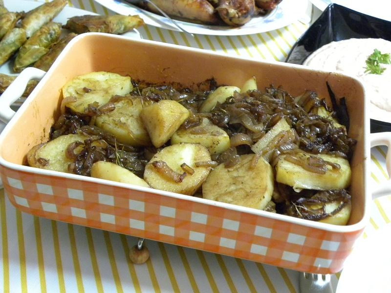 Vegan Pommes Lyonnaises image