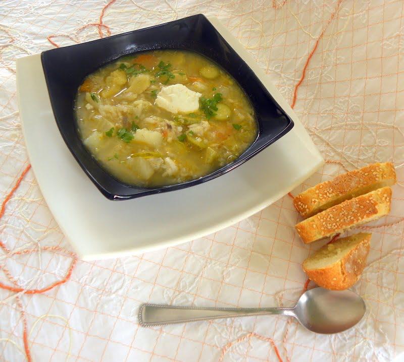 Artichoke Celeriac Soup picture