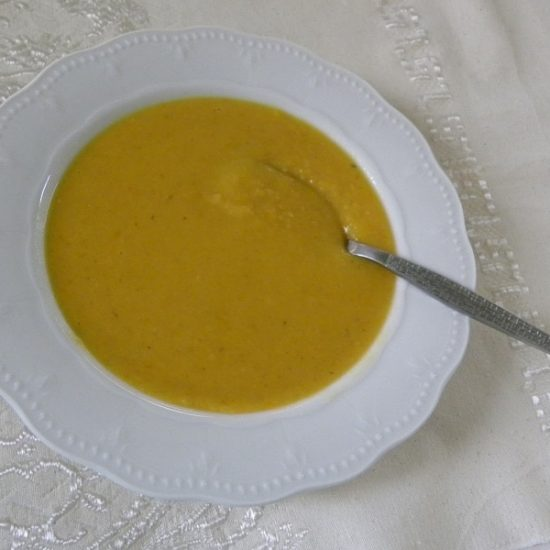 Greek Fava and Pumpkin Soup and Dip