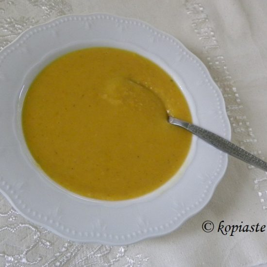 Greek Fava with two recipes: Greek Fava Soup with Pumpkin and Fava Dip