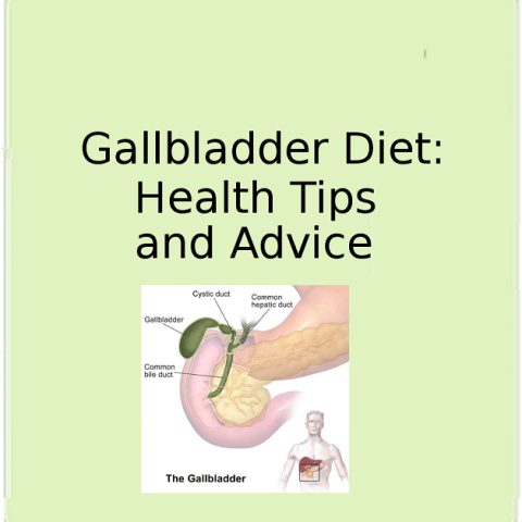 Gallbladder Diet:  Foods for Gallbladder Problems
