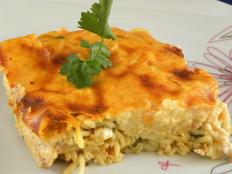 Anthotyro and Paprika Pastitsio image