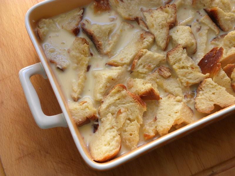 Tsoureki pudding with Karydaki photo