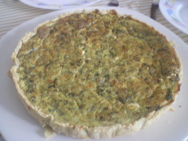 Zucchini tart image
