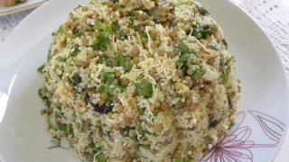 Lentil and Bulgur Spicy Salad