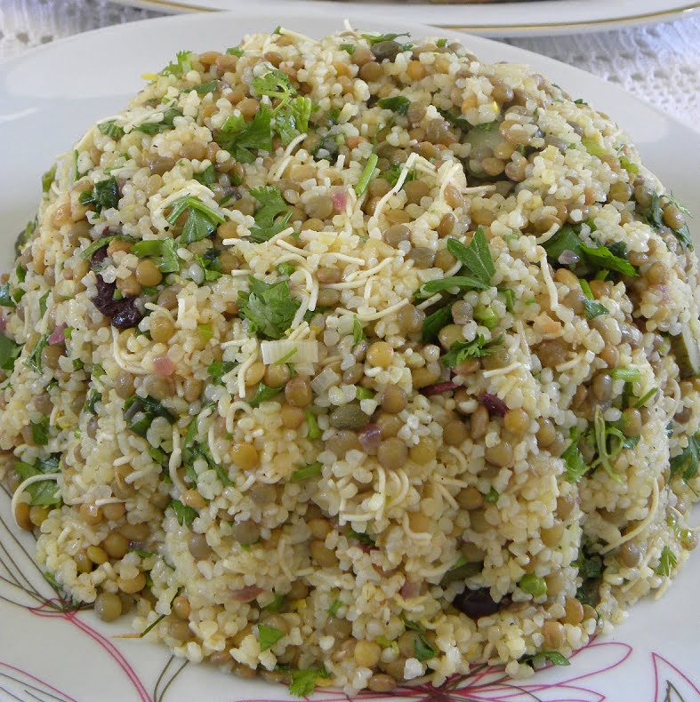Lentils and Bulgur Salad photo