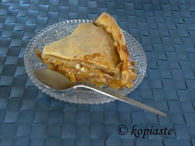Sweet Kolokythopita (Greek Butternut Squash Pie)