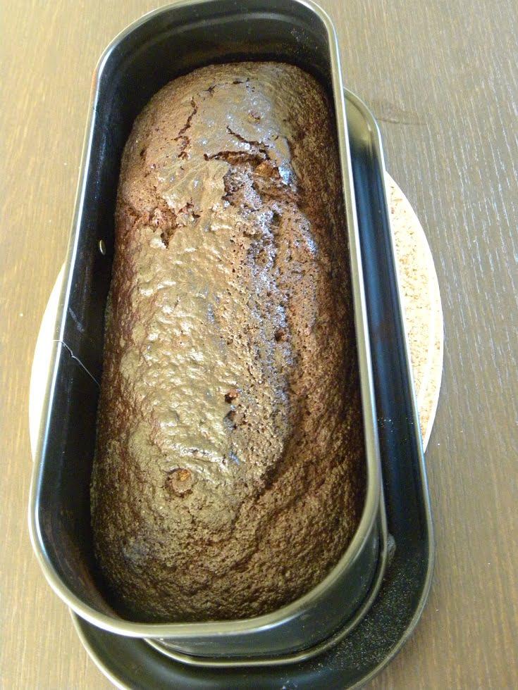 Ginger Petimezi cake picture