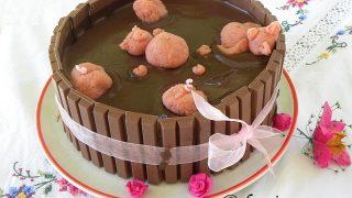 Strawberry Mud Cake - Happy Birthday Elia