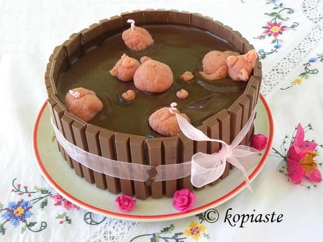 Strawberry Mud Cake