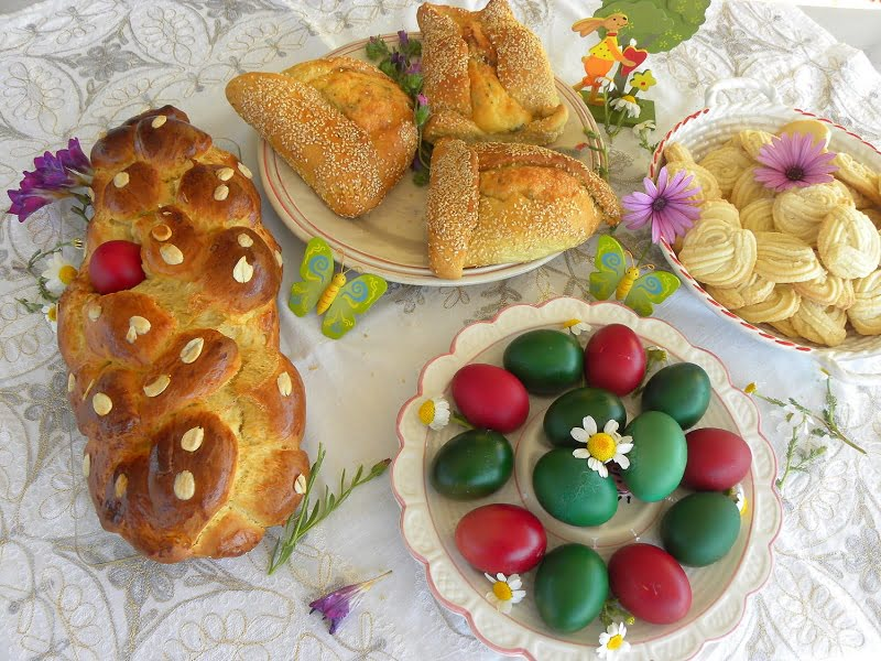 Greek Easter Recipes and Easter Leftovers