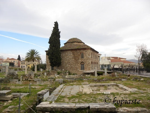 Fethiye mosque and agora