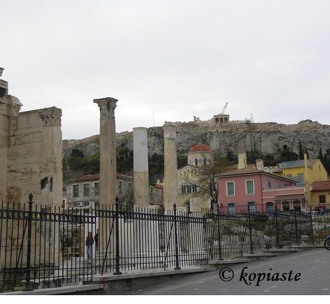 Monastiraki, Hadrians Library