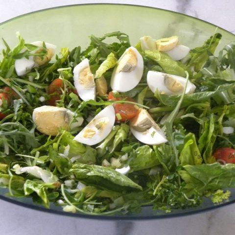 Spring Lettuce and Egg Salad image
