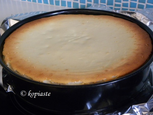 Cheesecake baked