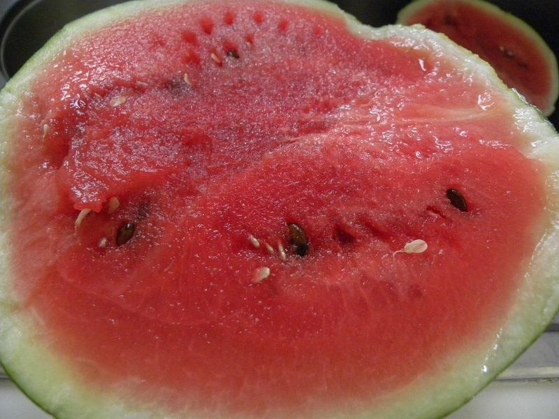 mini watermelon cut image