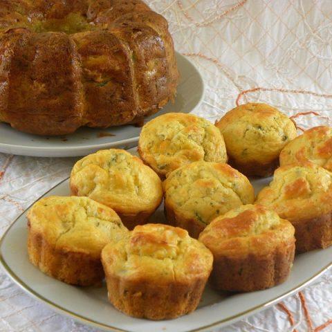 Zucchini Cake and Muffins image
