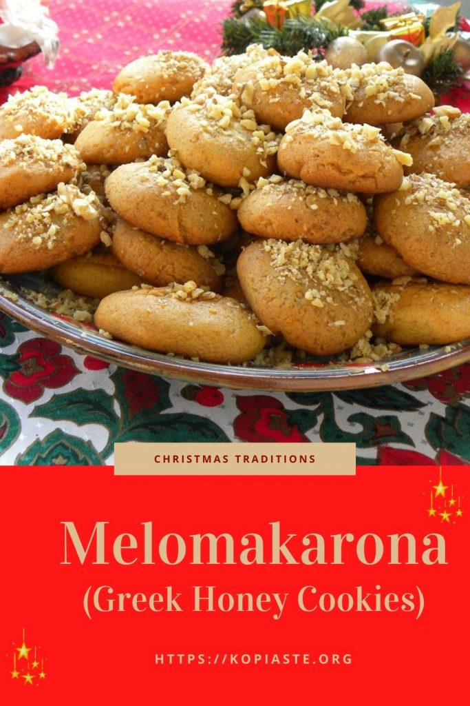 Collage Mandarin Melomakarona image