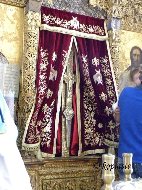 The Holy Cross at Omodos