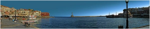 Chania panoramic picture