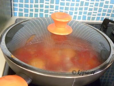 Kagianas with lid on