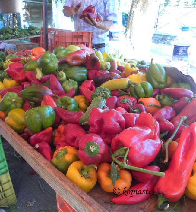 colourful peppers image