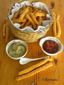 Spicy breadsticks