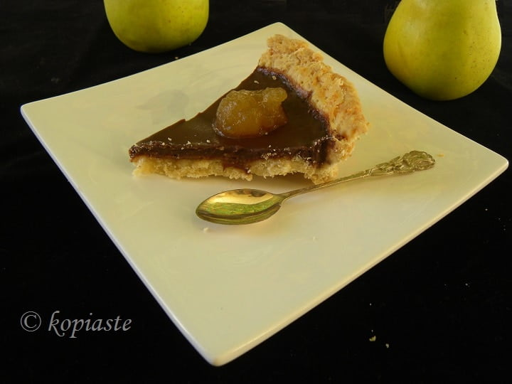 Chocolate and Apple tart