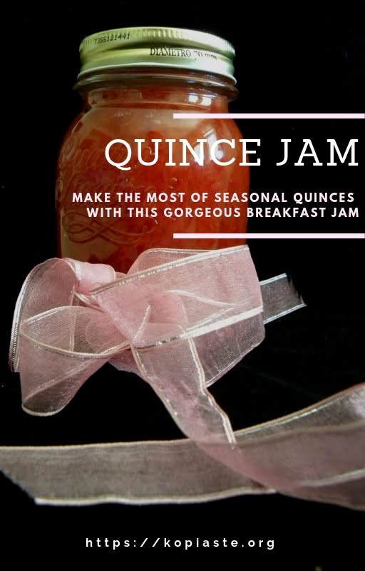 collage Quince jam image