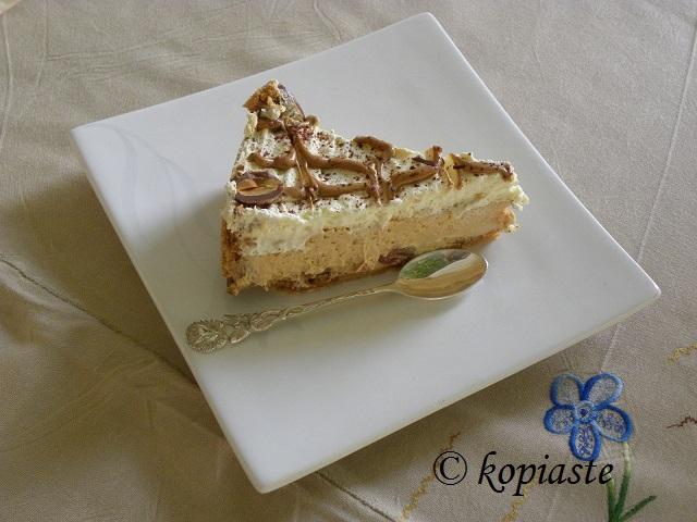 Dulce cheesecake cut2