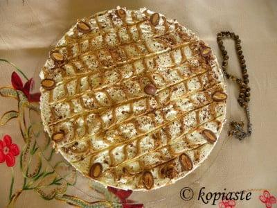 Dulce de Leche and Almond Chocolate Cheesecake2