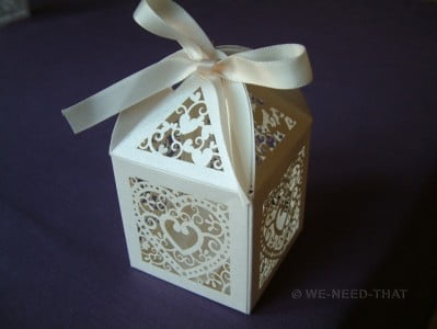 Weddin favour box