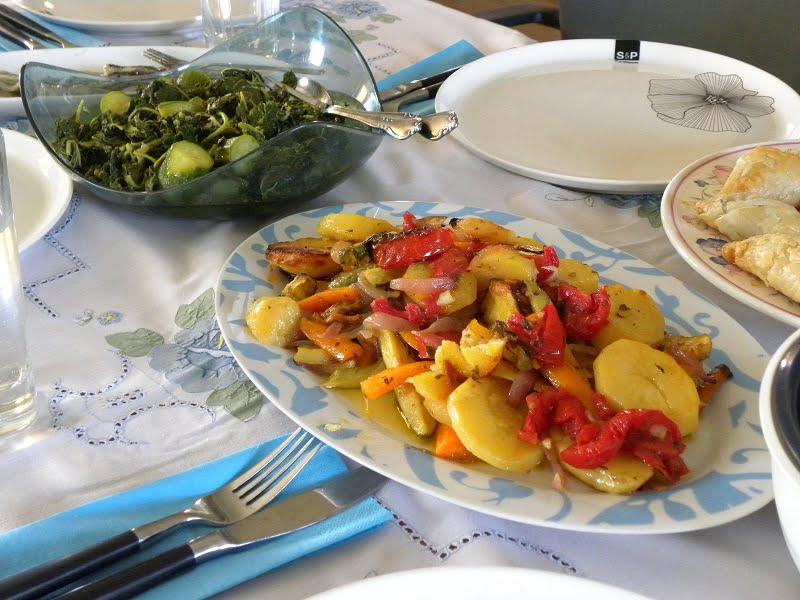Briam vegetables image