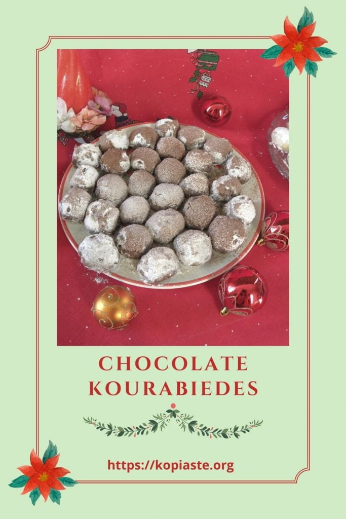 Collage Chocolate Kourabiedes image