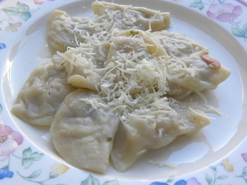 turkey ravioli image