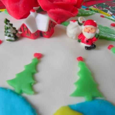 Sugar paste decorations image