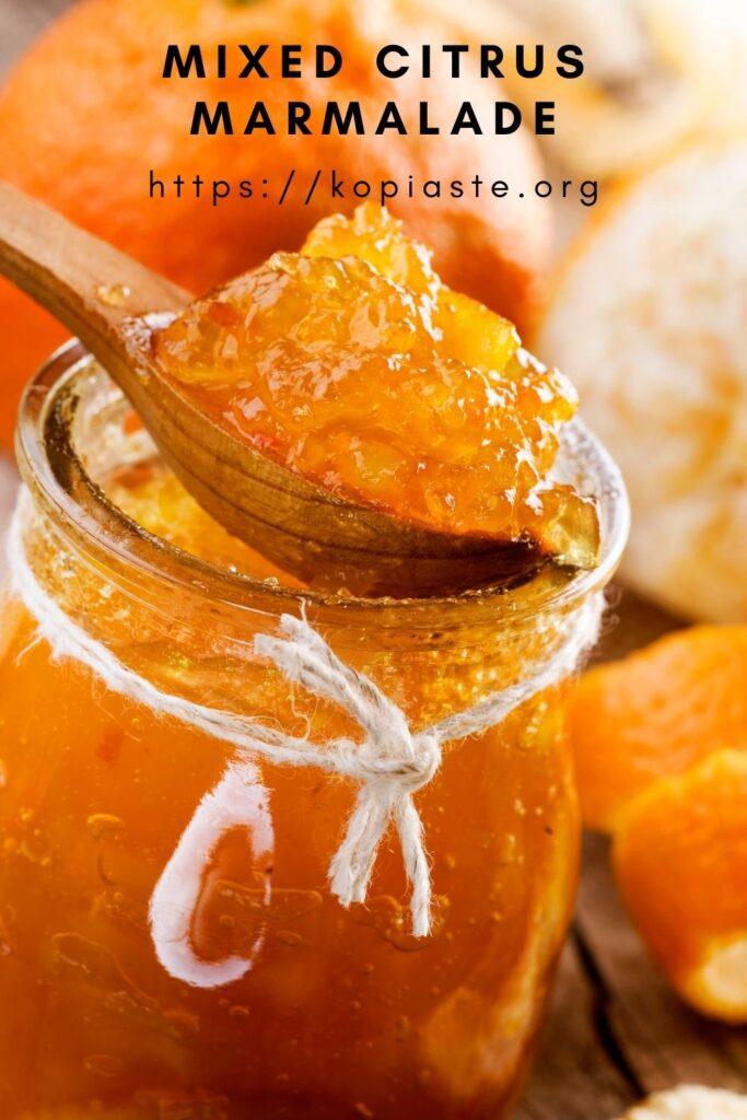 Collage Mixed citrus marmalade image