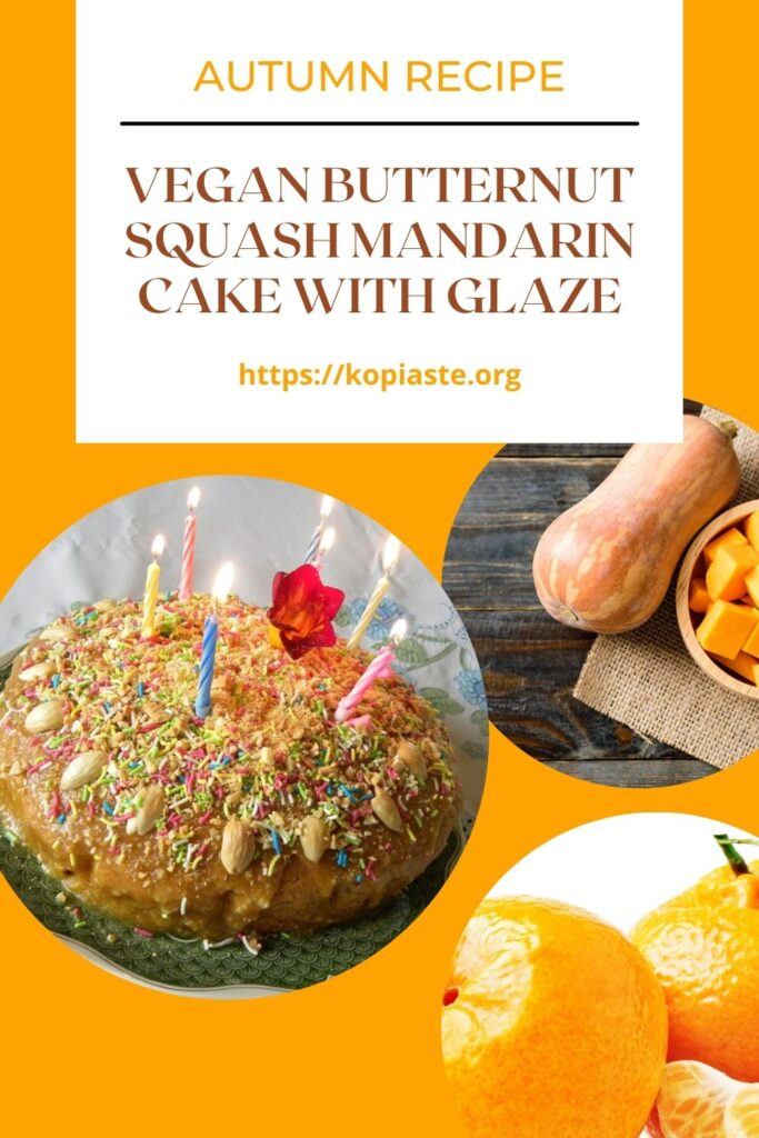 Collage Butternut Squash Cake image