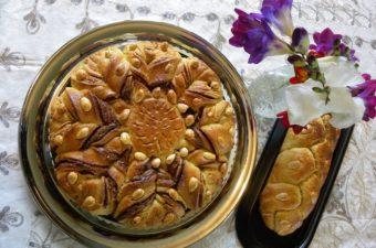 Tsourekia with praline image