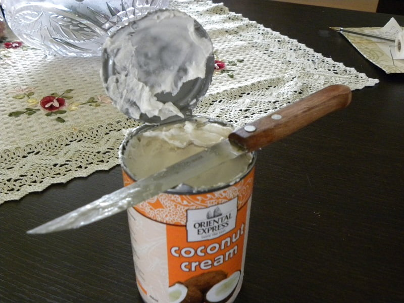 vegan coconut cream image
