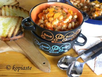 fassolada-with-sausage