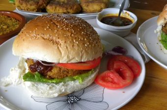 Chickpea Burgers image