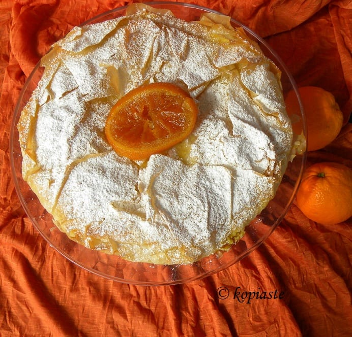 Portokalopita orange pie2