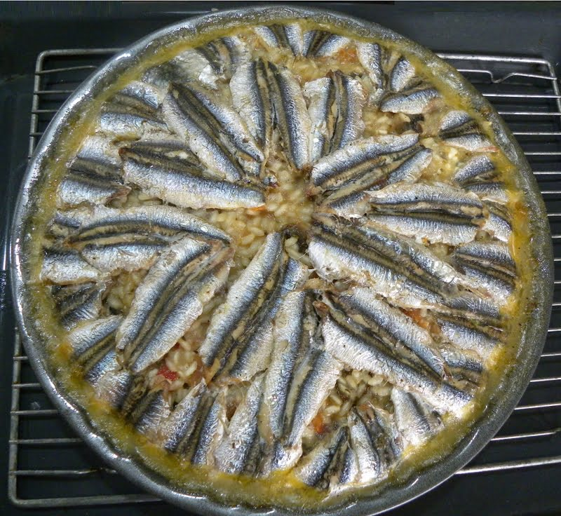 Baked Anchovy Risotto image