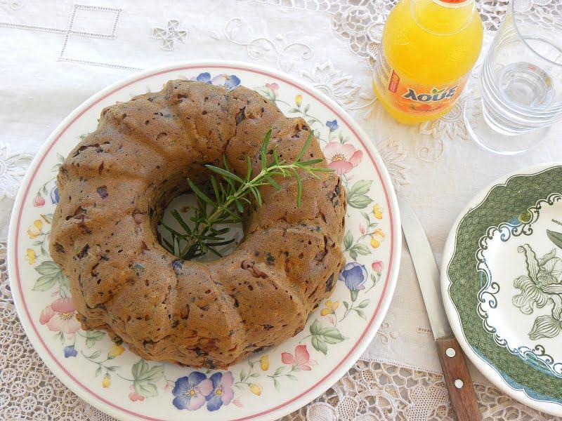 Olives cake image