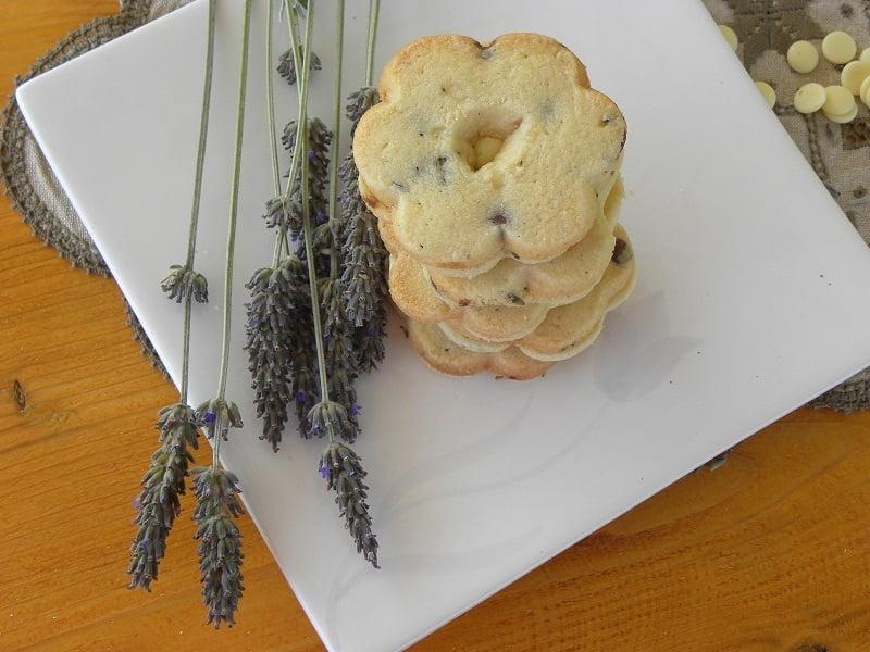 Lavender-Lemon & Mint Shortbread Cookies