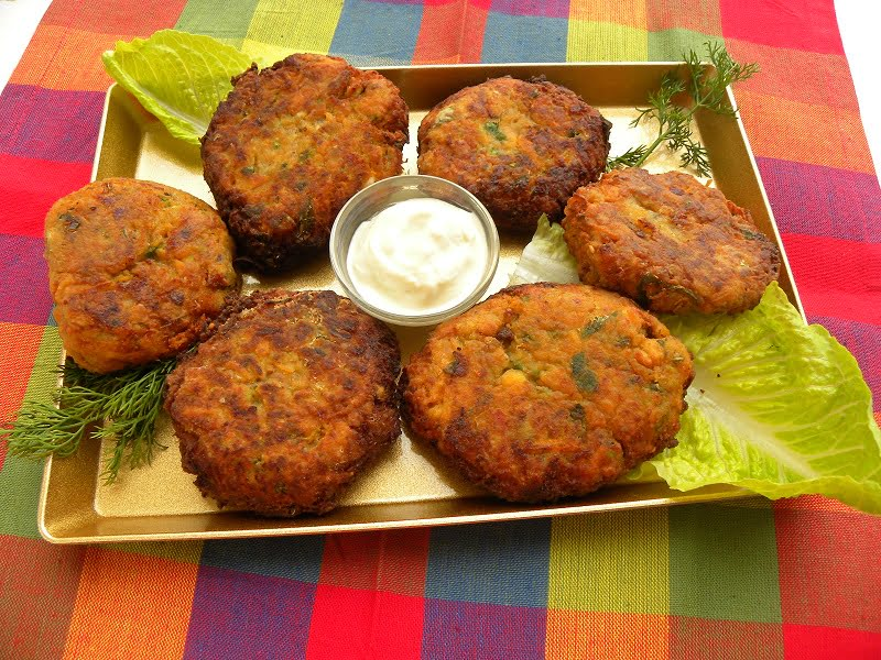 Vegetable fritters image