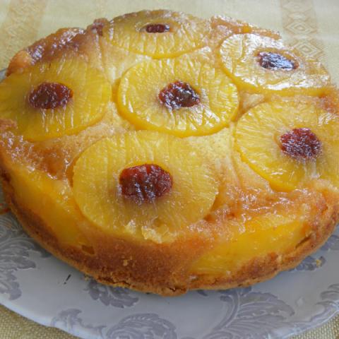 Upside down Pineapple cake image