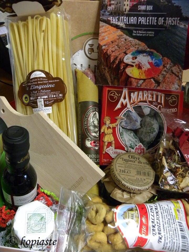 Κουτί με Ιταλικά προϊόντα