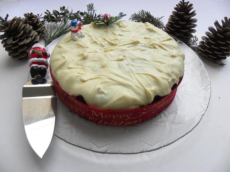 New Year's Cake with Grand Marnier & White Chocolate Glaze Vassilopita image